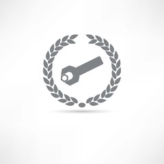 folder wrench icon