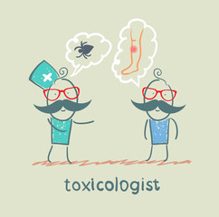 toxicologist said the poison spider patient