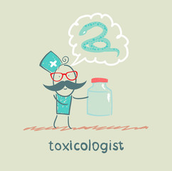 toxicologist says the snake and keeps medications