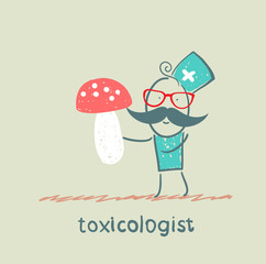 Toxicologist keeps fungus