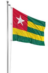 3D Togo flag