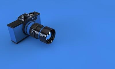 3D Retro Kamera - Fotoğraf Makinesi