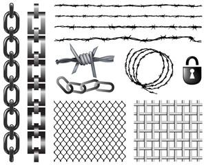 metal security elements