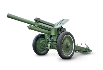 Old green cannon