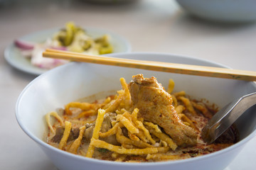 noodle with curry