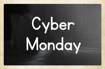 cyber monday concept