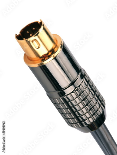 Male Plug Connector Isolated