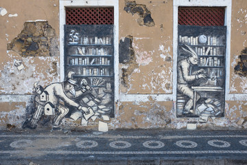 Street art in the Azores