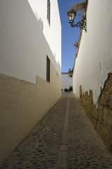 Alley in Ronda, Spain