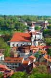 Aerial View of Vilnius. Lithuania