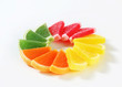 Sugar coated jelly candy