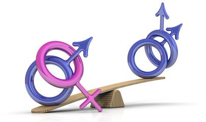 Количественное преимущество гетеросексуалов над гомосексуалами