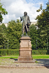 Monument to Emmanuel Kant. Kaliningrad (Koenigsberg before 1946)