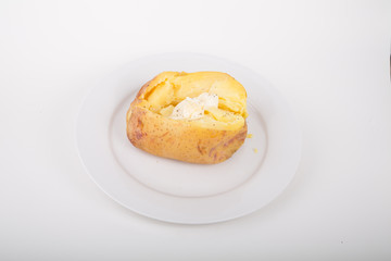 Hot Baked Yukon Gold Potato