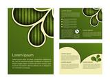 Fototapety Bamboo design template