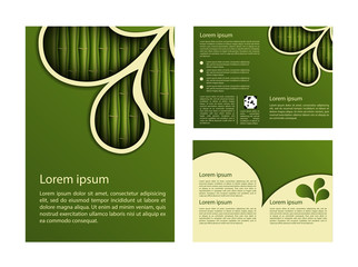 Bamboo design template