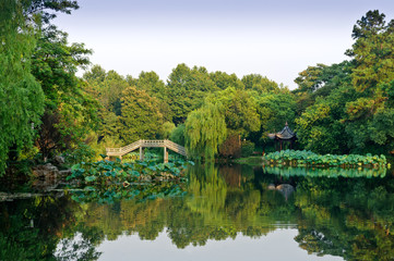 Hangzhou west lake natural scenery, in China