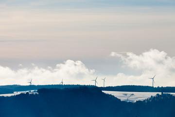 Black Forest windmill landscape Germany Europe
