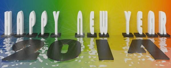 2014 new yaer 3d
