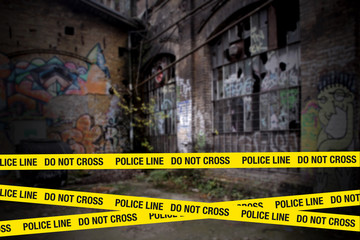 crime scene absperrung