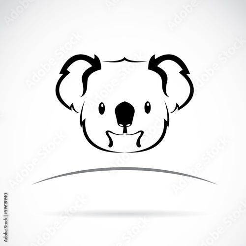 Vector image of an koala bear