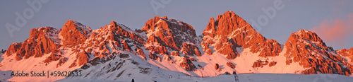 Some views of Dolomiti Alps Italy during winter time.. © agno_agnus