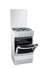 Gas Stove with Open Oven