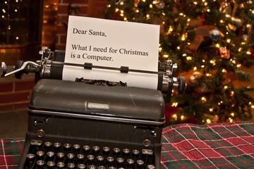 Note for Santa