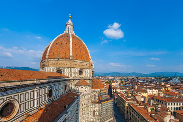 the Cathedral Santa Maria del Fiore in Florence