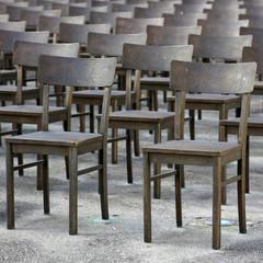 Stühle - quadratischer Hintergrund