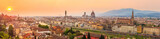 Florence city during sunset
