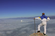 fog image&mountaineer