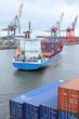 Feeder im Hafenbecken - 59624995