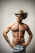 Muscled Cowboy