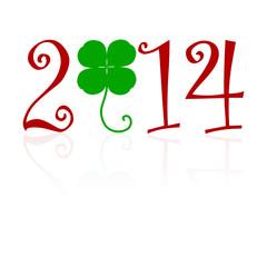 klee,kleeblatt,2014,grün,glück,glücksbringer,glücksklee