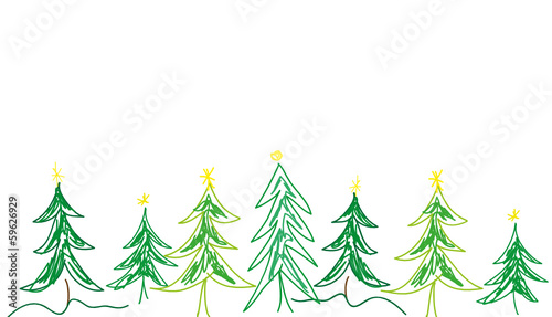 weihnachtsbaum grafik gemalt gr n stockfotos und. Black Bedroom Furniture Sets. Home Design Ideas