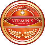 Vitamin K Supreme Quality Label