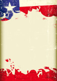 Grunge Texas flag - 59632333