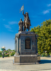 Monument to Prince Vladimir and St Feodor in Vladimir