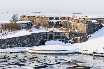Suomenlinna fortress bastions and royal gates