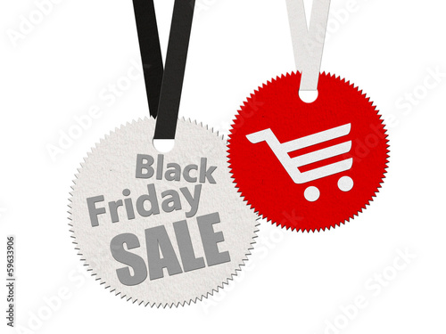 Black friday stiker