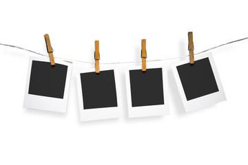Blank photo frames on line