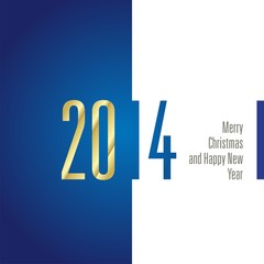 2014 blue white background vector