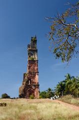 Ruins of St.Augustine church in Old Goa - Portuguese India