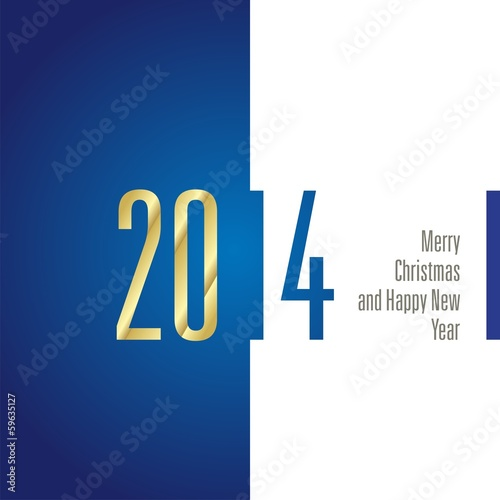 2014 blue white background vector
