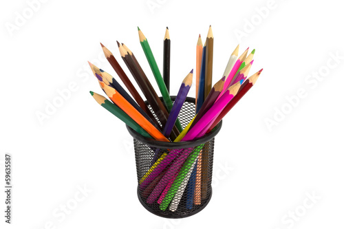 Metal color pencil box