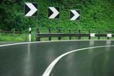 wet road poster