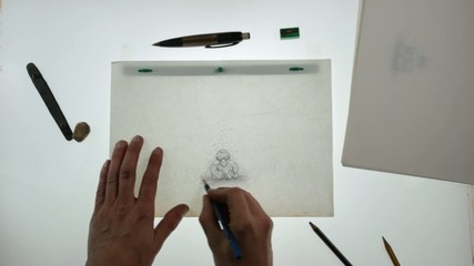 animator at work