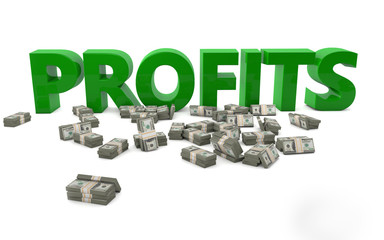 Money profits success income shareholders