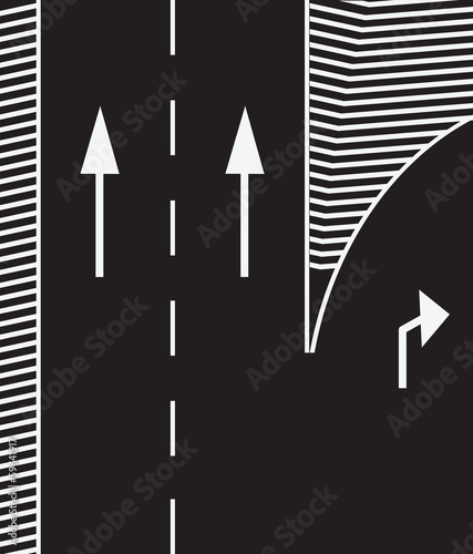 Road markings